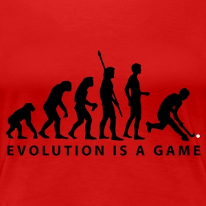 evolution_herren_hockey_b_2c T-skjorter - Premium T-skjorte for kvinner