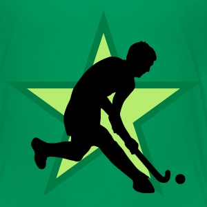 Kelly green herrenhockey_b_3c Kinder T-Shirts - Teenager Premium T-Shirt