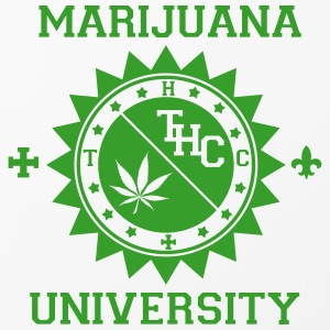 coque Iphone avec logo Marijuana University - Coque rigide iPhone 4/4s