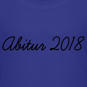 Türkis Abi 2018 Kinder T-Shirts - Teenager Premium T-Shirt
