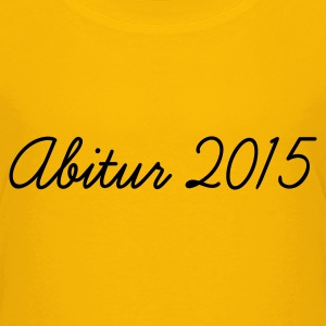 Gelb Abi 2015 Kinder T-Shirts - Teenager Premium T-Shirt