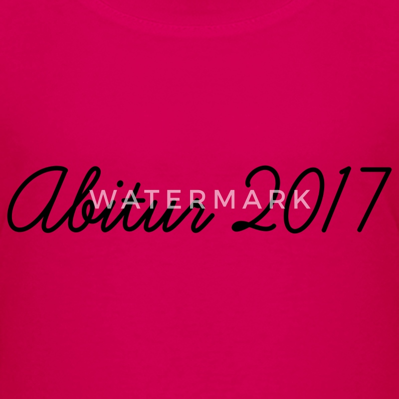 Pink Abi 2017 Kinder T-Shirts - Teenager Premium T-Shirt