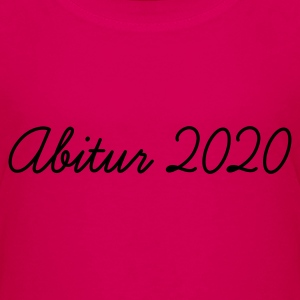 Pink Abi 2020 Kinder T-Shirts - Teenager Premium T-Shirt