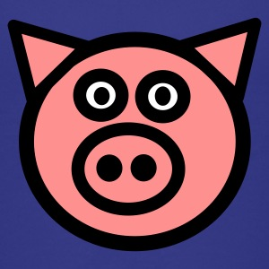 Cyan pig Kids' Shirts - Teenage Premium T-Shirt
