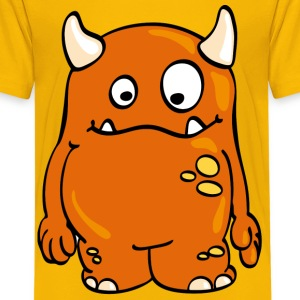 Yellow Monster Catch Kids' Shirts - Teenage Premium T-Shirt