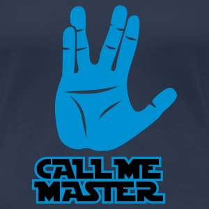 Jeansblau Call me Master © T-Shirts - Vrouwen Premium T-shirt