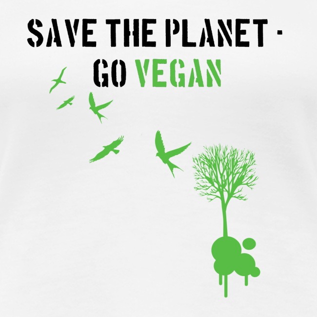save the planet, go vegan