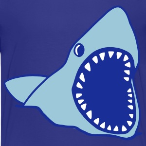 Cyan shark Kids' Shirts - Teenage Premium T-Shirt