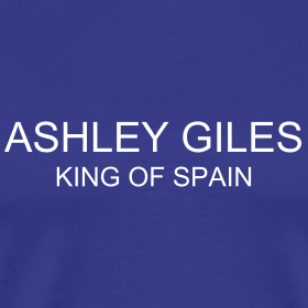 Design ~ Ashley Giles King of Spain