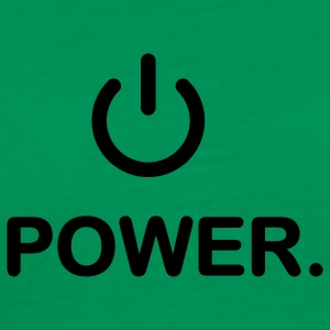 Grass green power T-Shirts - Men's Premium T-Shirt