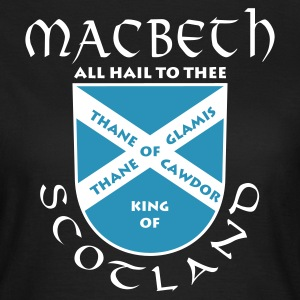 Chocolate Scotland Macbeth Girlie - Frauen T-Shirt