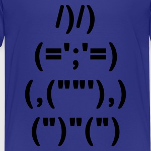 Sky ASCII Hase 3 Kinder - Teenager Premium T-Shirt