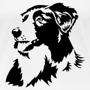 Border Collie - Women's Premium T-Shirt