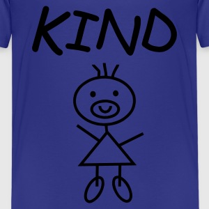 Kind lightblue by www.Mamapapakind.spreadshirt.de - Teenager Premium T-Shirt