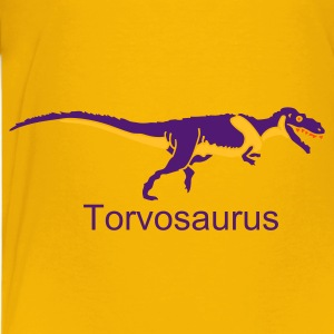 Gelb Torvosaurus Kinder Shirts - Teenager Premium T-Shirt