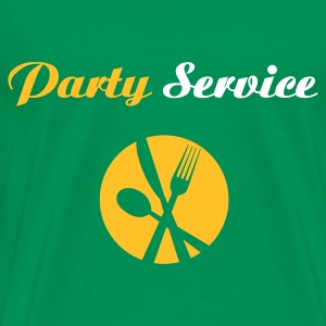 Party Service - Männer Premium T-Shirt