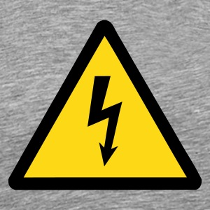 Ash high_voltage Men's Tees (short-sleeved) - Men's Premium T-Shirt