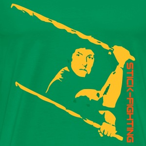 Eskrima Stickfighting - Männer Premium T-Shirt