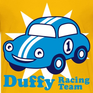 Yellow duffy racing team Juniors - T-shirt Premium Ado