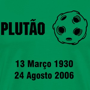 Plutão memorial PT - Men's Premium T-Shirt