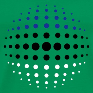geo_dotsphere_estonia_3c01 Men's Tees (short-sleeved) - Men's Premium T-Shirt