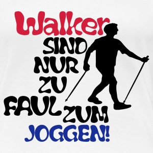 Walker - Frauen Premium T-Shirt