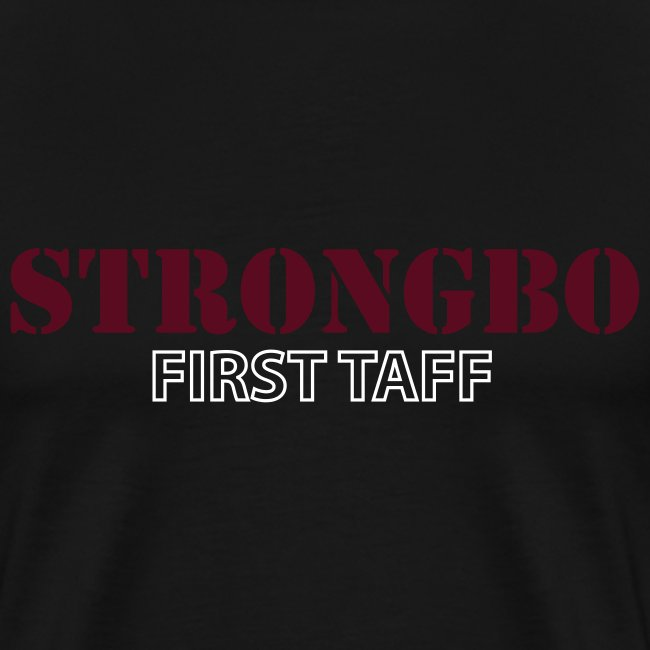 Strongbo Black Men's XXXL T-Shirt