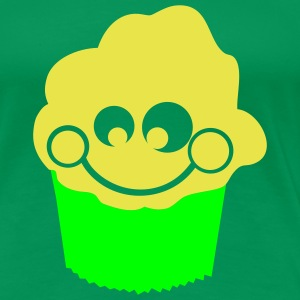 Kelly green muffin T-Shirts - Frauen Premium T-Shirt