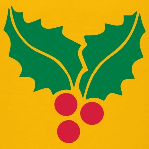 Yellow Mistletoe Kid's Shirts  - Teenage Premium T-Shirt