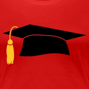 Graduation Cap - Women's Premium T-Shirt