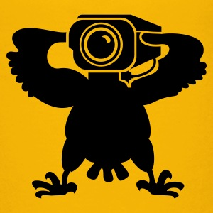 Gelb Wächter-Adler / watch eagle (1c) Kinder T-Shirts - Teenager Premium T-Shirt