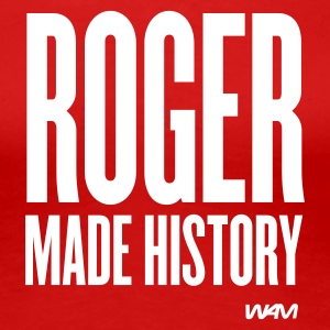 Rouge roger made history T-shirts - T-shirt Premium Femme