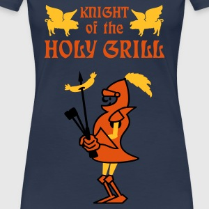 Bleu jean Knight of the holy grill (Txt, 2c) T-shirts - T-shirt Premium Femme