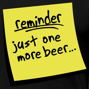 reminder beer - Women's Premium T-Shirt