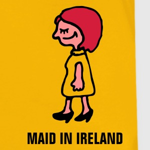 Gelb maid_in_ireland_3c Kinder T-Shirts - Teenager Premium T-Shirt