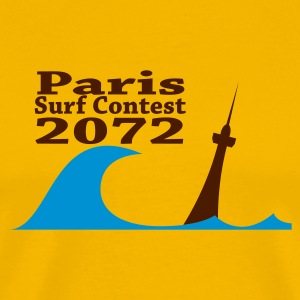 Paris Surf Contest 2072 - T-shirt Premium Homme