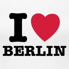 Hvid I Love Berlin - I Heart Berlin T-shirts