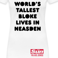 Design ~ World's Tallest Bloke Lives in Neasden