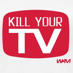 Vit kill your tv by wam T-shirts - Premium-T-shirt dam