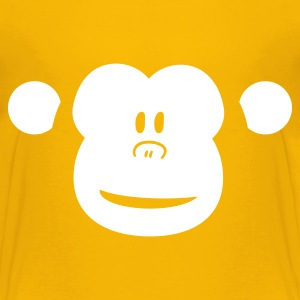 Cute Monkey (shop design) Shirts - Teenage Premium T-Shirt