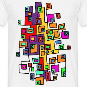 CITY MAP 1 - Männer T-Shirt