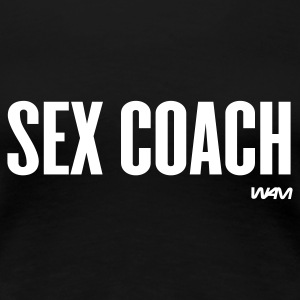 Nero sex coach by wam T-shirt - Maglietta Premium da donna