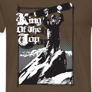 king of the top - T-shirt Premium Homme