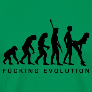 fucking_evolution T-Shirts - Men's Premium T-Shirt