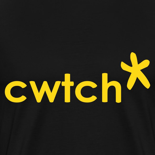 cwtch mens front print... also makes a great nightie