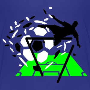 Cyan Goal !!! Kids' Shirts - Teenage Premium T-Shirt