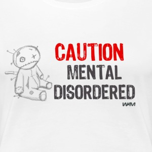 Vit mental disordered by wam T-shirts - Premium-T-shirt dam