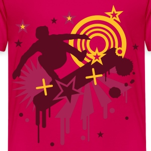 Pink skater Kinder T-Shirts - Teenager Premium T-Shirt