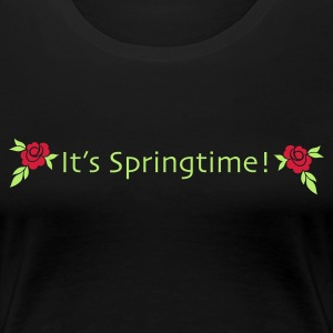 its springtime - Frauen Premium T-Shirt