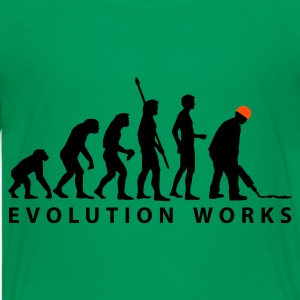 evolution_bauarbeiter_b_2c Shirts - Teenage Premium T-Shirt